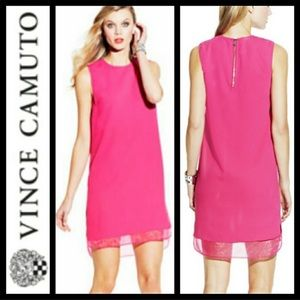 Vince Camuto pink dress - size 6
